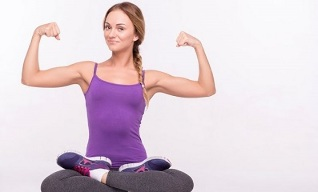 Exercises for slimming arms and shoulders